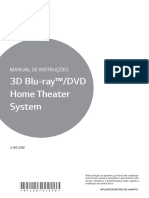 Manual Do Home Theater - Lhb625m