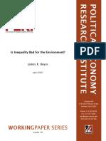 Boyce(2007) Inequality Environment