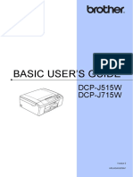 Manual Brother Dcp-j715w
