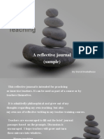 Zen and the Act of Teaching Sample