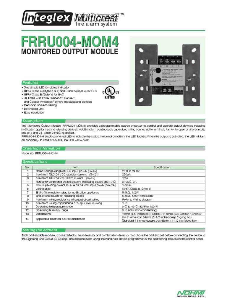 Est Fire Alarm Panel Wiring Diagram
