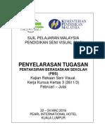 Penyelarasan Tugasan Krsv 2016