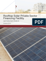 Rooftop Solar Private Sector Financing Facility Full Report
