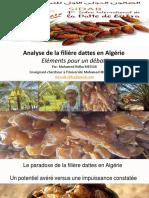 Analyse de La Filière Datte en Algérie