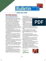 September Bulletinen