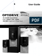 82-HVMAN-In Optidrive HVAC User Guide Rev 2.00