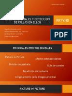 EFECTOS DIGITALES Y DETECCIÓN DE FALLAS EN ELLOS | RRTVHD | EQUIPO 9 | 3AVEO