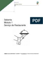 Manual Serviço de Restaurante