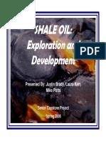 Shale Oil Presentation