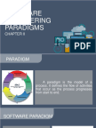 Software Engineering Paradigm Report