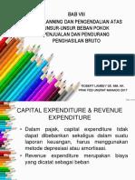 Tax Planning Dan Pengendalian Atas Unsur-unsr Beban Pokok Penjualan
