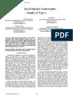 Generalized Bipolar Neutrosophic Graphs of Type 1