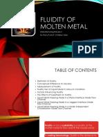 Prosman2 - Fluidity of Molten Metal
