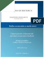 Italia economia a metà 2017