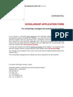 Davis Scholarship