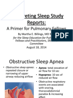 Interpreting Sleep Studies Primer