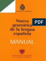 GRAMATICA Nueva de La Lengua Espanola