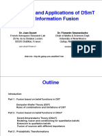 Advances and Applications of DSmT for Information Fusion