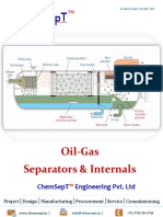 Oil Gas Separators Internals ChemSepT