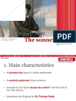 3. THE SONNET.ppt