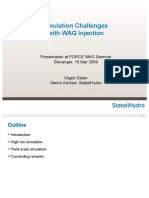 WAG Simulation Challenges