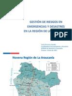 Gestion de Riesgos en Emergencias y Desastres c. Troncoso
