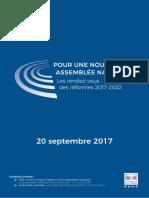 Présentation réforme de l'Assemblée nationale par François de Rugy