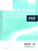 clinical cases for MRCPCH PART 2 applied knowledge in practice