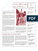 April 2001 Delaware Bicycle Council Newsletter