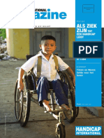 MAGAZINE - Handicap international België  #112