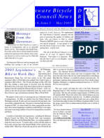 May 2005 Delaware Bicycle Council Newsletter