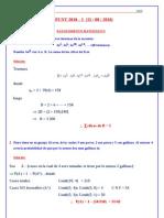 Solucionario 3er Sumativo CEPUNT - 2010 - I