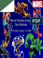Marvel Studio Present