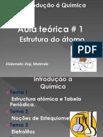 Distribução Electronica. Apresentação Teórica 1