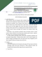 7.2.3.2 Kerangka Acuan Pelatihan Petugas Unit Gawat Darurat
