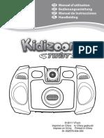 Kidizoom 80 122857 Manual Español