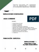 2 a-Instalaciones Domiciliarias Agua Corriente