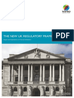 The New UK Regulatory Framework