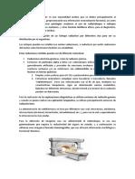 La Medicina Nuclear es una especialidad médica que se dedica principalmente al diagnóstico de pacientes.docx