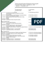 Jadwal IPD II - Des 2017