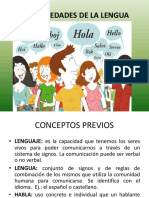 Variedades de La Lengua