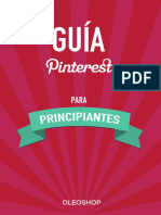 eBook Pinterest Para Principiantes