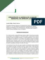 CREACIÓN DE LA AGENCIA DE ALQUILER MUNICIPAL DE ARRECIFE (AAMA)