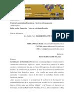 Mejornadasdeinvestigacion_rositamercadoRADIO PLURALIDAD de VOCES
