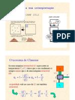 Física Geral II  - A Entropia e a Sua Interpretação Microscópica