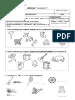 Guía Consonante R inicial e intermedio fuerte