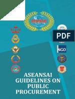 ASEAN Guidelines on Public Procurement