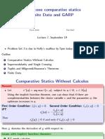 Lecture_07 Monotone Comparative Statics