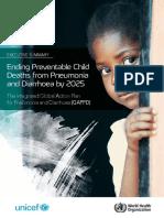 Who Pneumonia Child Mortality