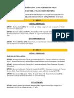 Relacion de Lecturas Completas Del Curso Basico de Formación Continua 2010